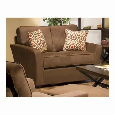 Marley Loveseat Chocolate - Largo - LARGO-ST-F2200-402