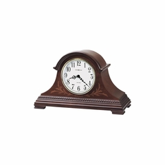 Marquis Chiming Mantel Clock in Windsor Cherry - Howard Miller