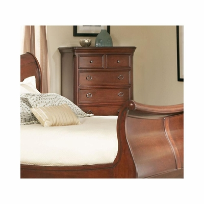Marseille 6 Drawer Chest Black Cherry - Largo - LARGO-ST-B8610-30