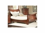 Marseille Sleigh Bed Black Cherry - Largo - LARGO-ST-B8610-SLEIGH