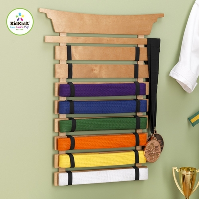 Martial Arts Belt Holder - KidKraft Furniture - 14245