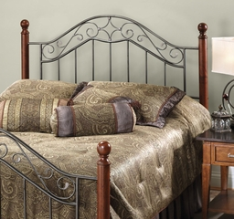 Martino King Size Headboard with Bed Frame - Hillsdale Furniture - 1392HKR