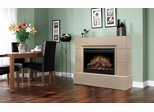 Mason Cast Concrete Electric Fireplace - Dimplex - SOP-945-TC