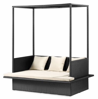 Maui Outdoor Bed in Chocolate - Zuo Modern - 701136