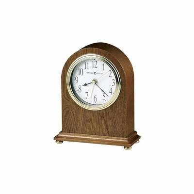 Maurice Quartz Arched Alarm Clock - Howard Miller