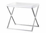 Maximo End Table - Bellini Modern Living - MAXIMO-WHT