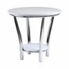 Maya Round End Table - Winsome Trading - 93519