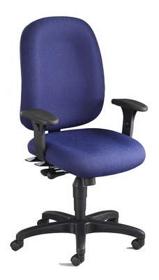 Mayline Big and Tall Comfort 24-Hour High Performance Chair in Blue - 2424AG2111