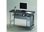 Mayline Computer Desk in Anthracite/Metallic Gray - 925ANT
