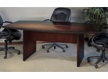 Mayline Corsica 6 Feet Boat-shaped Conference Table in Mahogany - CTC72MAH