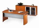 Mayline Napoli Executive Office Package 8 in Golden Cherry