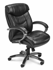Mayline Ultimo Executive Mid-Back Chair - UL230MBLK