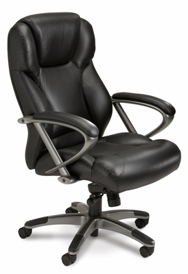 Mayline Ultimo High-Back Chair - UL350HBLK