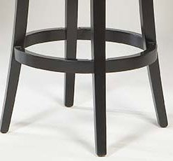 "MBS-01 30"" Crown Swivel Barstool in Brown Leather / Espresso - Armen Living - LCMBS01SWBABR30"