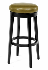 MBS-450 Backless Swivel Barstool in Wasabi / Espresso - Armen Living - LC450BAWA
