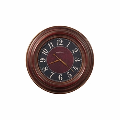 McClure Oversized Gallery Wall Clock in Antique Red - Howard Miller