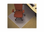 Med Plush Chairmat - Clear - LLR69164