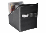 Media Living Movie Bin With 36 Sleeves Leather Look - Atlantic - 96635585