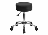 Medical Ergonomic Stool with Chrome Base - BT-191-1-GG