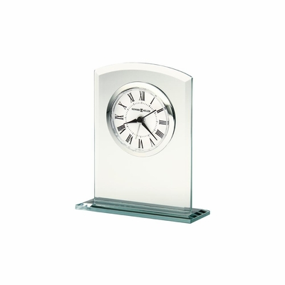 Medina Glass Table Clock - Howard Miller