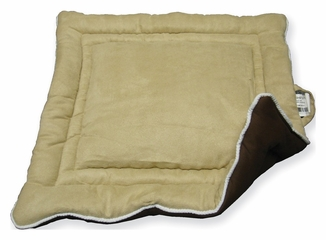 Medium Size Cozy Pet House Pad in Tan / Brown - NewAgeGarden - MAT101M