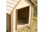 Medium Size Dog House Flap Door in Clear - NewAgeGarden - DOOR001M