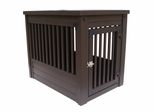 Medium Size Habitat 'n Home Mission Pet Crate in Espresso - NewAgeGarden - EHHC102M