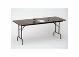 "Melamine Top Folding Table 24"" x 72"" - Correll Office Furniture - CF2472M"