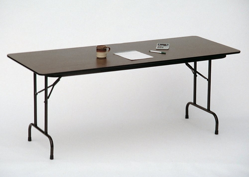 Melamine Top Folding Table 36