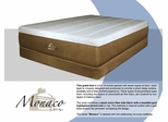 "Memory Foam Mattress - 14"" Monaco ""Luxury Grand"" Queen Size Mattress - SilverRest - SRMMONMEM-50"