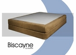 "Memory Foam Mattress - 8"" Biscayne Eastern King Size Mattress - SilverRest - SRMBISMEM-70"