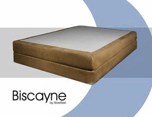 "Memory Foam Mattress - 8"" Biscayne Queen Size Mattress - SilverRest - SRMBISMEM-50"