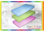 Memory Foam Mattress - Visco 4 Kids Twin Size Pink Mattress - SilverRest - SRMVKPMEM-30