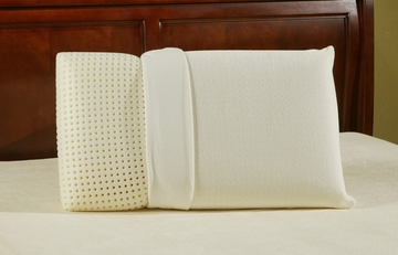 Memory Foam Pillow - Sleep Science Ventilated Euro King Size Pillow - South Bay International - V-328-K