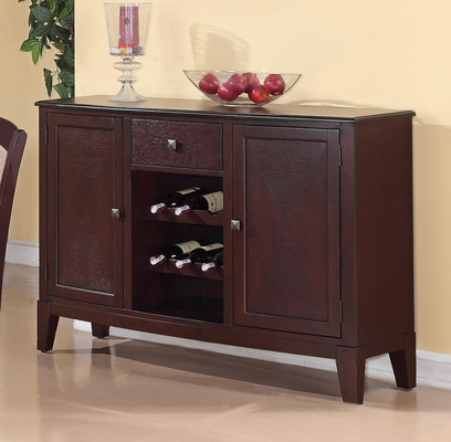 Memphis Server with Wine Rack - 102765