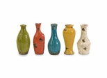 Mercade Mini Vases in Gift Box (Set of 5) - IMAX - 40165-5