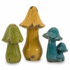 Mercade Mushrooms (Set of 3) - IMAX - 40089-3