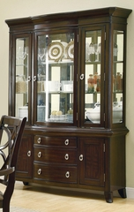 Meredith Buffet with Hutch - Espresso - 103534
