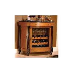 Merlot Valley Wine and Bar Cabinet  - Distressed - Howard Miller