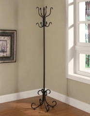 Metal Coat Rack with Curved Feet - 900863
