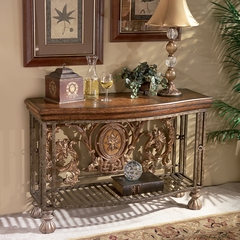 Metal Console - Butler Furniture - BT-0689025