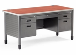 "Metal Desk 60"" x 29.5"" - OFM - 66360"