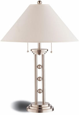 Metal Table Lamp with Cone Shade - Set of 2 - 900734