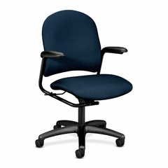 Mgr. Mid-Back Chair - Blue - HON4221BK85T