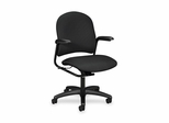 Mgr. Mid-Back Chair - Iron - HON4221BK19T