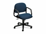 Mgr. Mid-Back Swivel Chair - Blue - HON4002AB90T