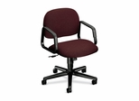Mgr. Mid-Back Swivel Chair - Burgundy - HON4002AB62T