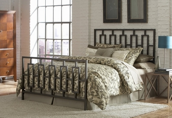 Miami Queen Size Bed with Frame - Fashion Bed Group - B61445