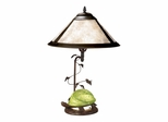 Mica Green Turtle Table Lamp - Dale Tiffany