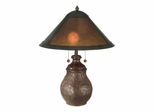 Mica Round Base Table Lamp - Dale Tiffany
